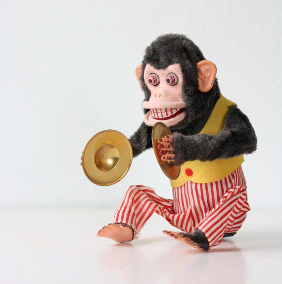 My grandparents had one of these at their lake house. I think it might be why I am afraid of monkeys.