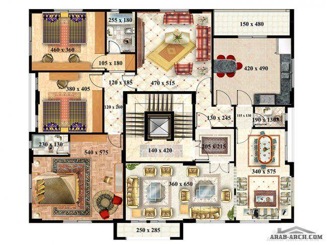 بناية سكنية نموذج C مشروع الاحرار شركة الباز للاستثمار العقارى Gallery Wall Decor Home Decor
