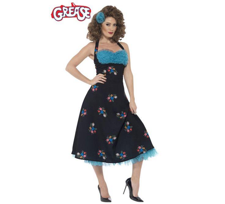 Disfraz de Cha Cha DiGregorio de Grease para mujer. De la película que marcó un antes y un después. Grease pasa a la historia.