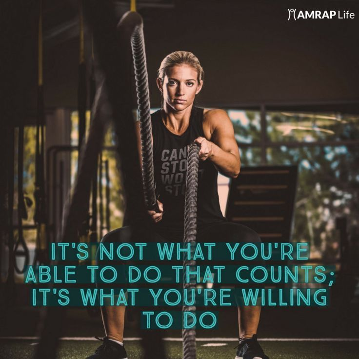 It's Not What You're Able to do #motivation