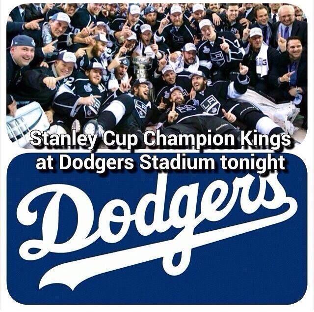 Kings at Dodger Stadium 6/17/14