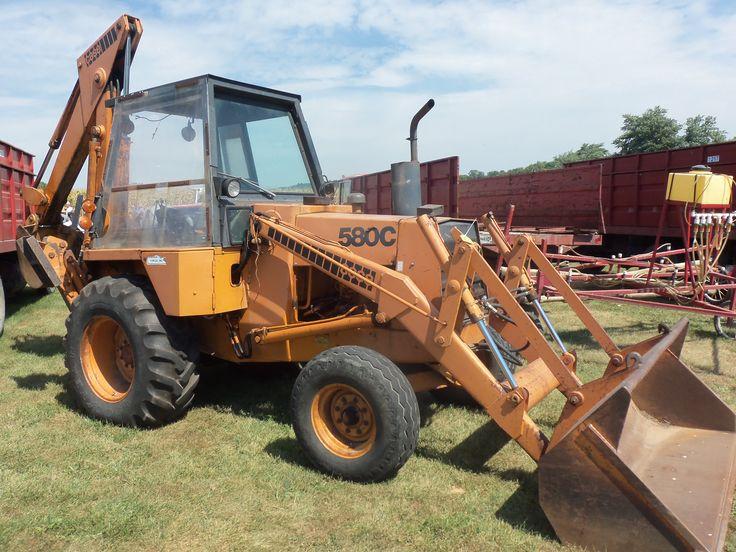 Case 580c Backhoe : Case c tractor loader backhoe construction
