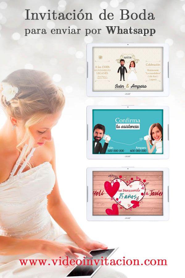 Rana Peregrino conjunción  Las nuevas invitaciones de boda son digitales. Anuncia a familia y amigos  que te… | Invitaciones de boda digitales, Invitacion boda originales,  Invitaciones de boda