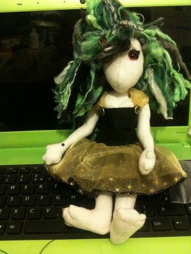 how to make a poppet doll