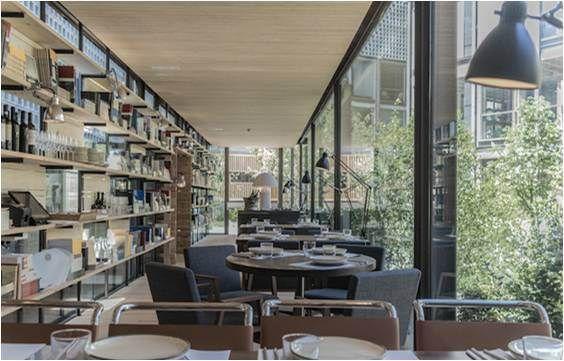 69 best restaurantes images by marisol on pinterest for Restaurante escuela de arquitectos madrid