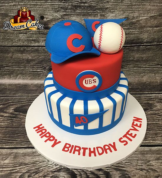 Top Baseball Cakes: 25+ Best Ideas About Chicago Cubs Cake On Pinterest