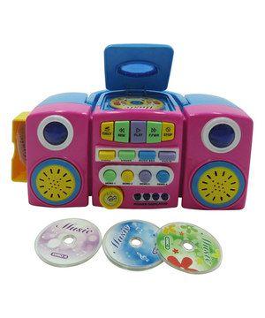 Loving this Pink CD Player on #zulily! #zulilyfinds