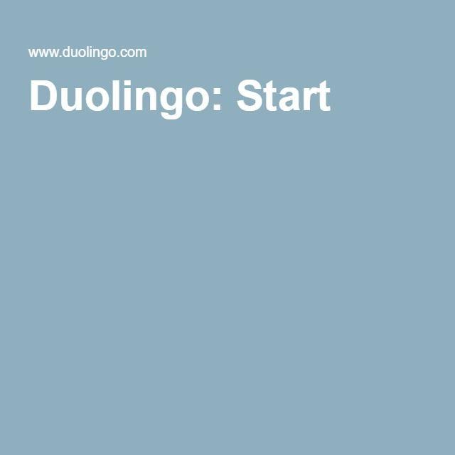 Duolingo: Start