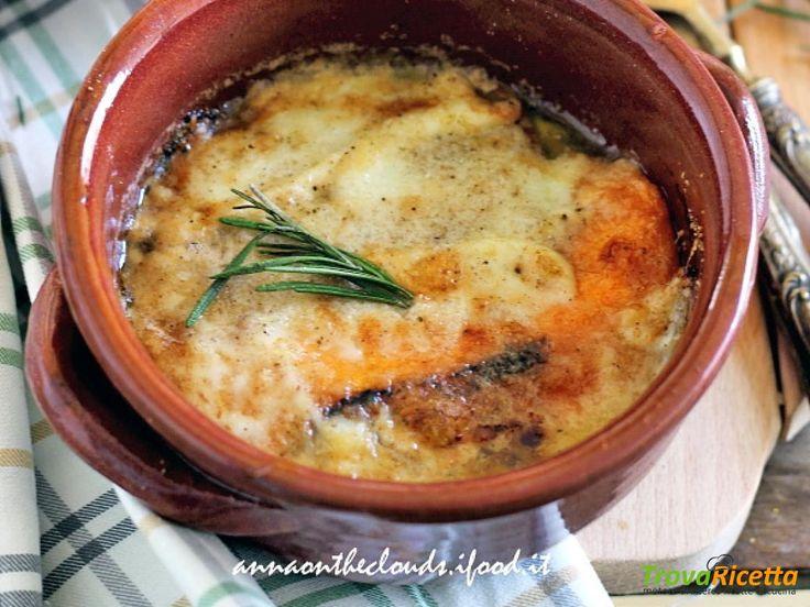 Zucca gratinata al forno  #ricette #food #recipes
