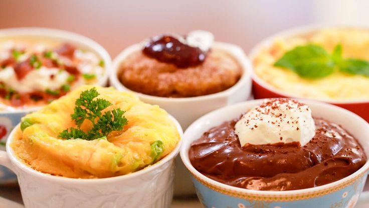 NEW Microwave Mug Meals: 5 Bold