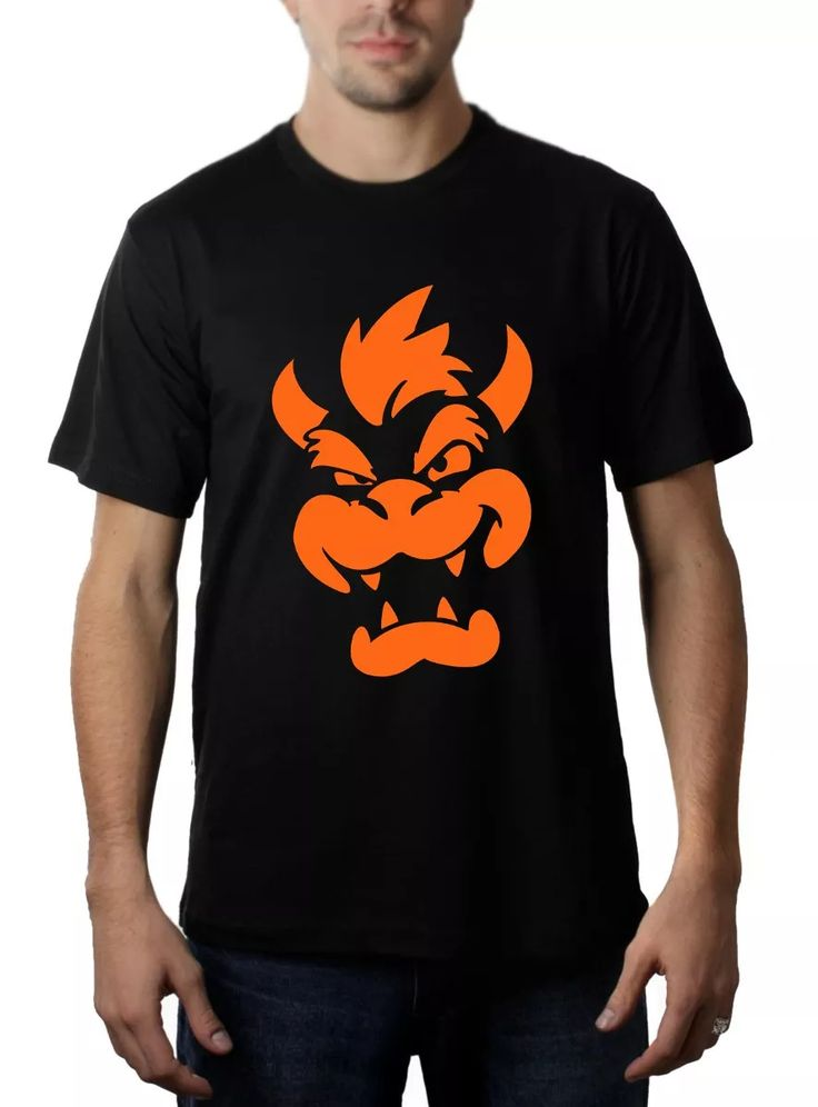 Camisa, Camiseta Rei Bowser (super Mario) - Geeks / Nerds