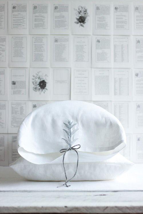 trish & co | embroidered pillowcase set
