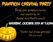 Pumpkin Invitations as amazing invitation design