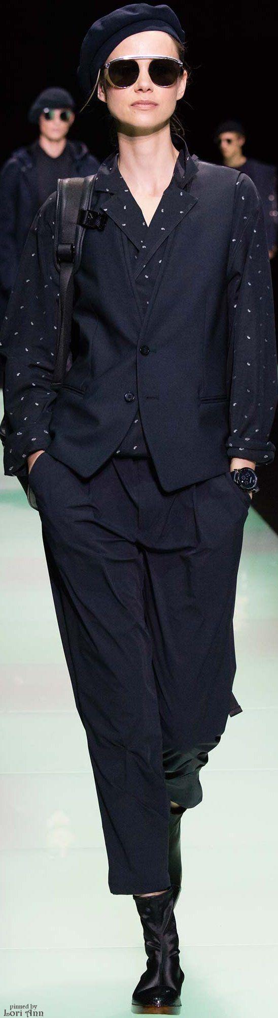 Emporio Armani from the Menswear Collection 2016