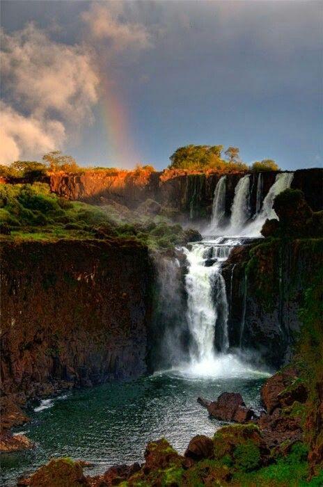 Iguazu Falls , Argentina ! Volveré porque es sencillamente mágico!