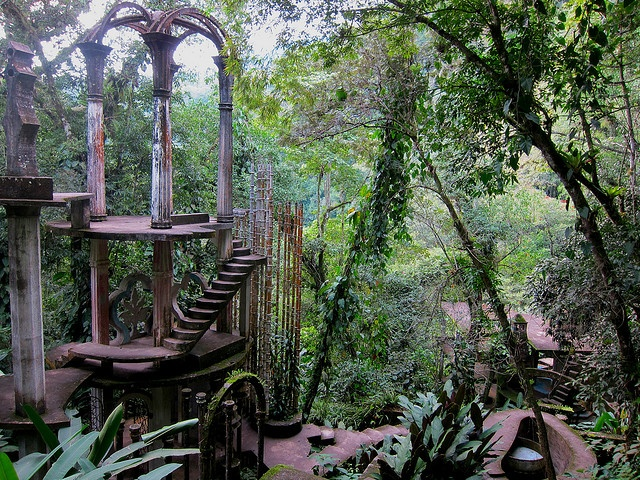Las Pozas - Xilitla, Mexico