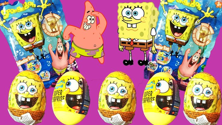 #Spongebob #Squarepants #SURPRISE_EGGS Full Episode #opening #unboxing #surprise #toys meet the #family