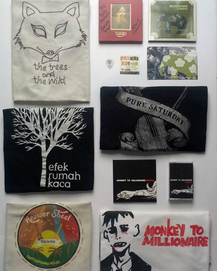 So much love for Answer Sheet, Efek Rumah Kaca, Melancholic Bitch, Monkey To Millionaire, Pure Saturday, The Trees & The Wild, Tigapagi ♡