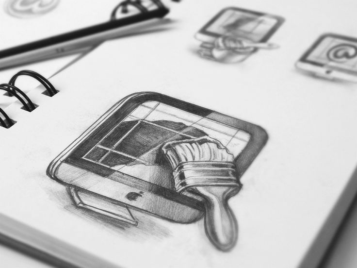 Amazing icon sketch