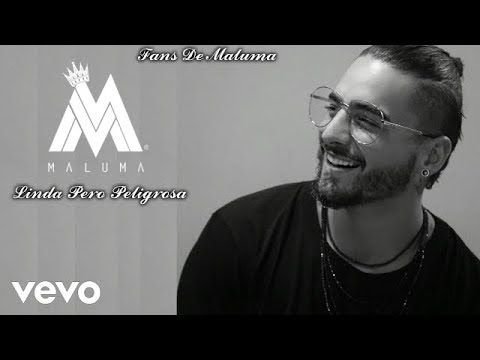 Maluma - Linda Pero Peligrosa (Audio Oficial) - YouTube