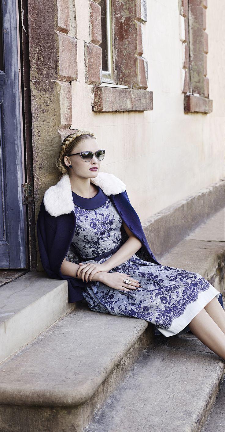 The Gracie Lou Jacket & Liberty Lace Dress