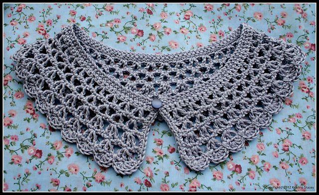 Ravelry: Nancy Crochet Collar pattern by Eaden Yarns
