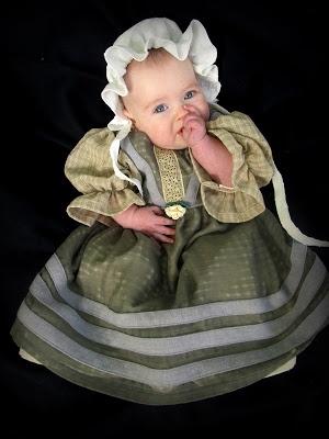 Romantic History: Baby Hobbit Dress