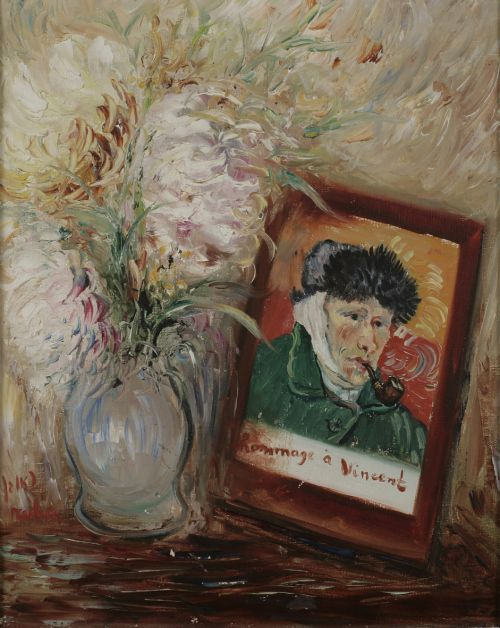 Reuven Rubin - A tribute to Vincent, 1940