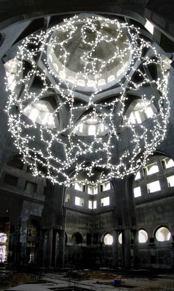 whitehotel:        Tord Boontje, Abu Dhabi, lighting proposal (2003)