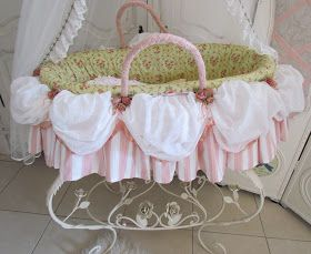 Inspired by Marie Antoinette's dresses and pretty cakes I made this Moses Basket. I watched the movie with a pen and paper in hand and took...