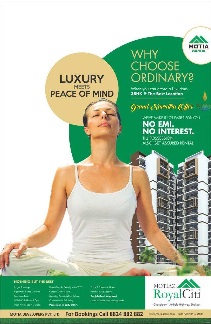 Luxury Meets 'Peace of Mind' #MotiazRoyalCiti