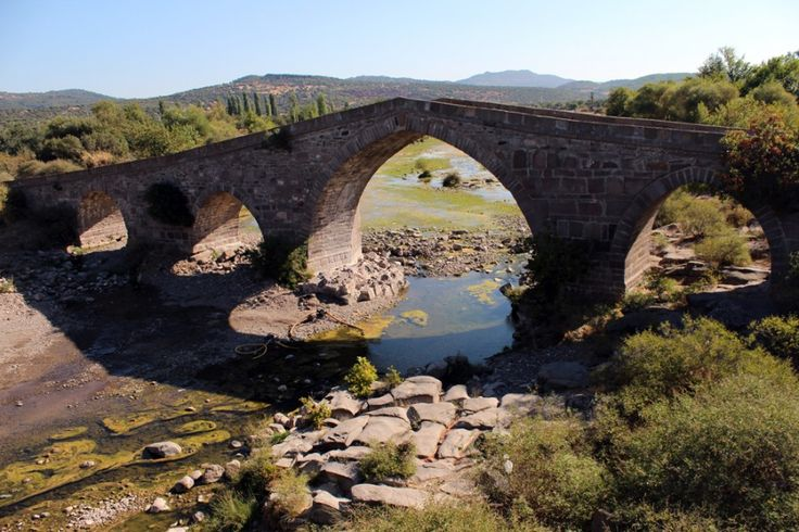 Behramkale Eski Taş Köprü - Behramkale Çanakkale