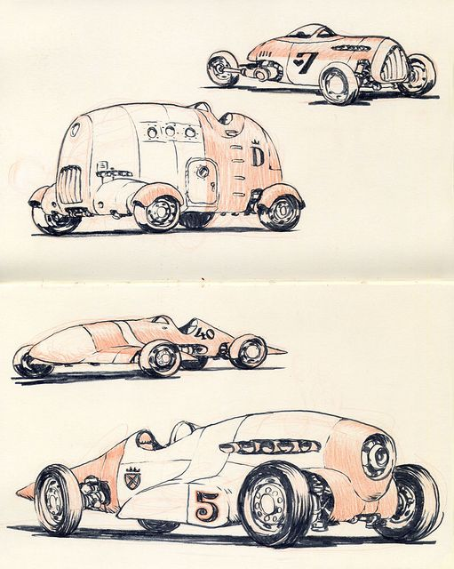 Jake Parker Sketches.