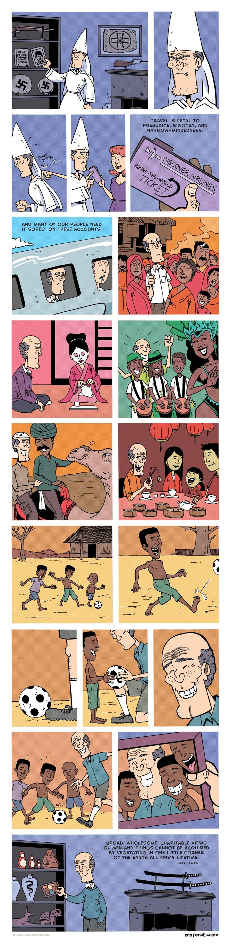 ZEN PENCILS - Cartoon quotes from inspirational folks