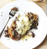 Fay Ripley's cheesy wild mushrooms on toast - hellomagazine.com