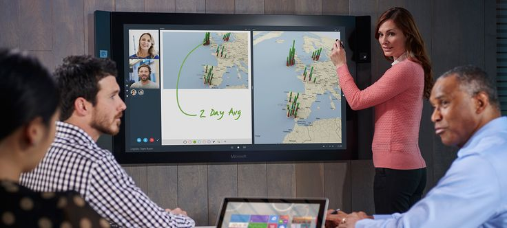 The interactive 84-inch, Windows-powered 4K HDTV will bridge boundaries for remote teams and offer enhanced opportunities for collaboration through its Bluetooth connectivity and touchscreen surface.