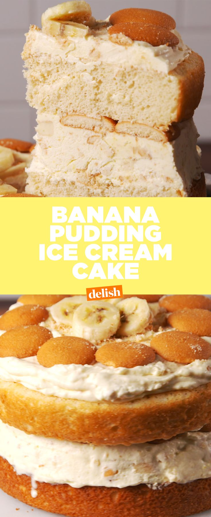 If you love banana pudding, you'll go ape sh*t over this cake. Get the recipe at Delish.com.