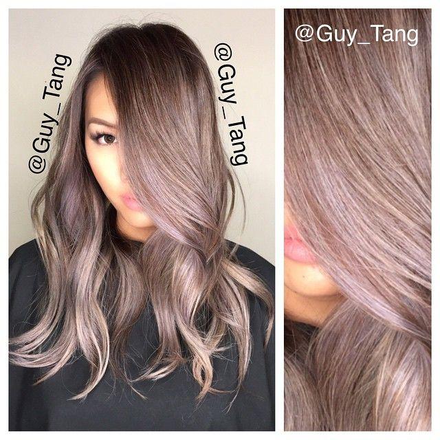 Pink Grey Brown Hair Www Picswe Com