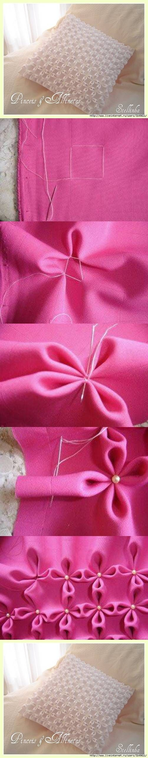 Flower fabric technique