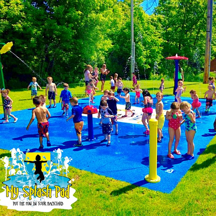 51 Best Preschool Amp Daycare Play Splash Pad Water Fun