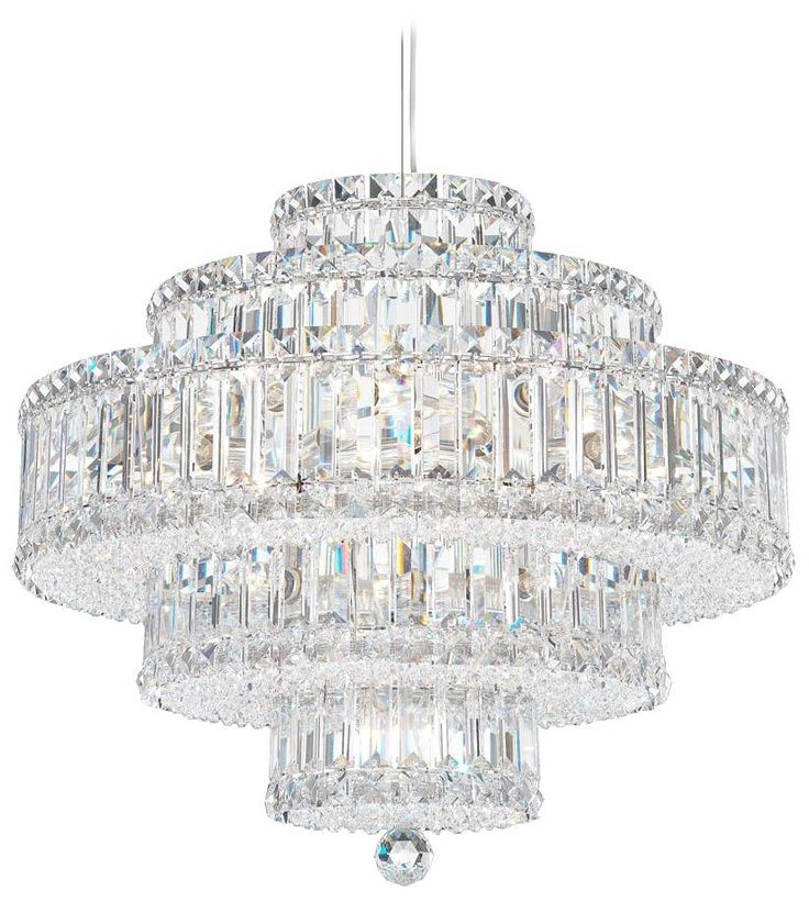 Schonbek lighting 152 pinterest schonbek roomsimages schonbek plaza collection 22 light crystal chandelier living mozeypictures