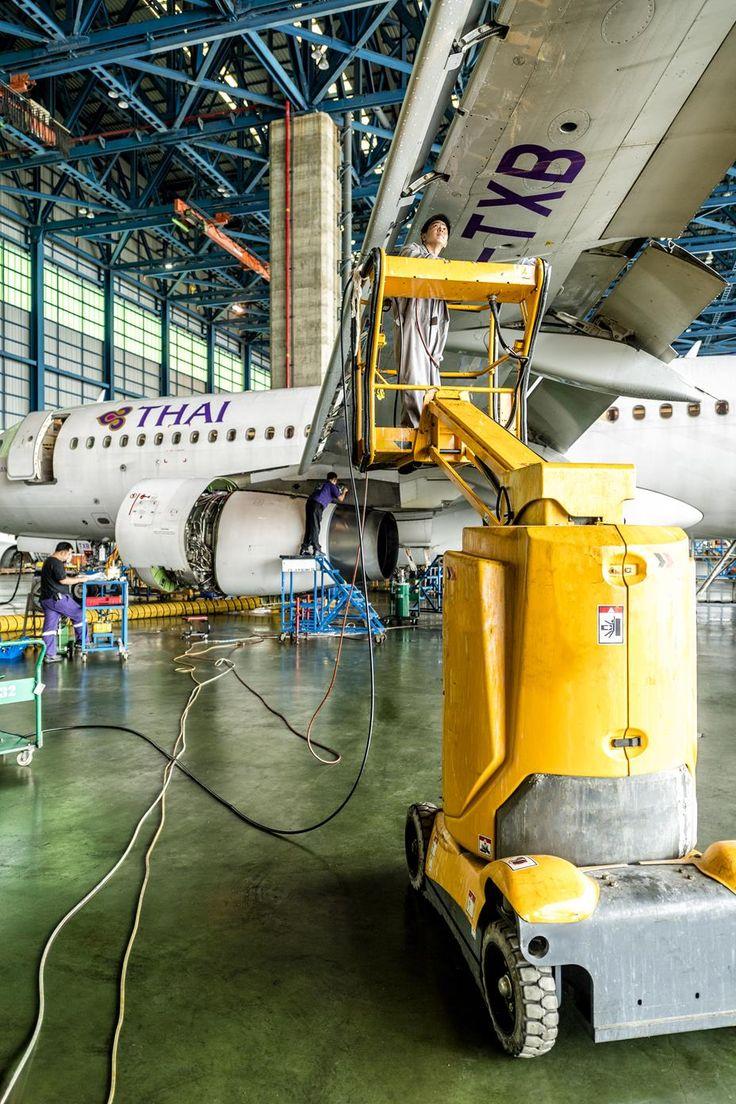 Thai Airways Aircraft 2