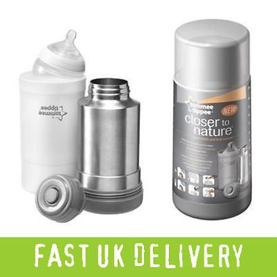 Tommee tippee closer to #nature #travel flask bottle food #drink milk warmer baby,  View more on the LINK: 	http://www.zeppy.io/product/gb/2/262044956649/