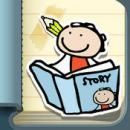 Kid in Story Book Maker App Poster Image
