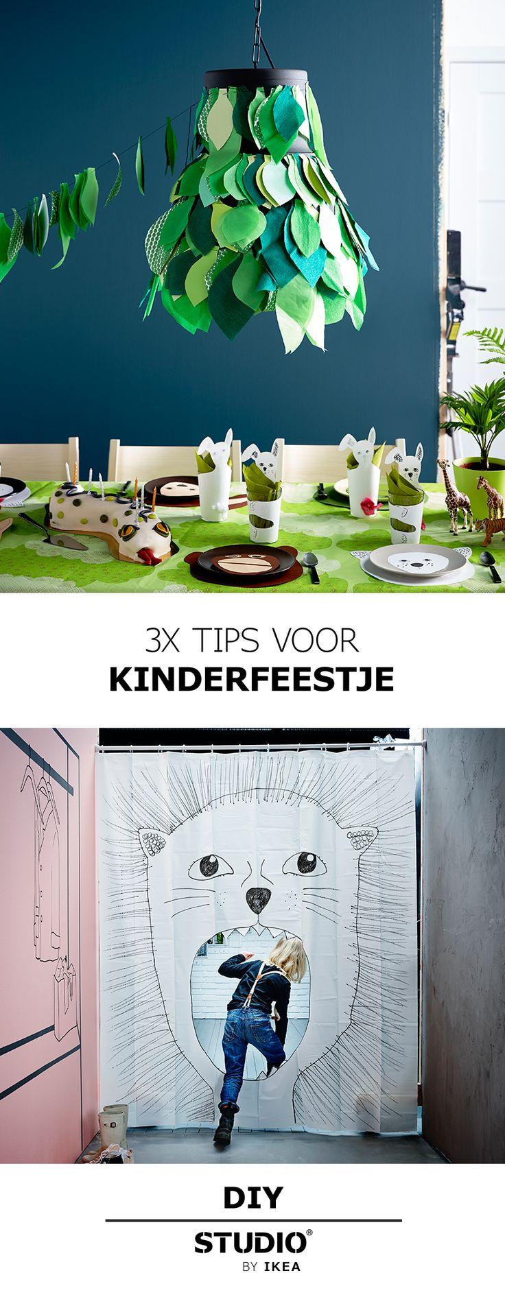 STUDIO by IKEA - 3x tips voor kinderfeestje   #STUDIObyIKEA #IKEA #IKEAnl #inspiratie #DIY #tips #verjaardag #kinderfeestje