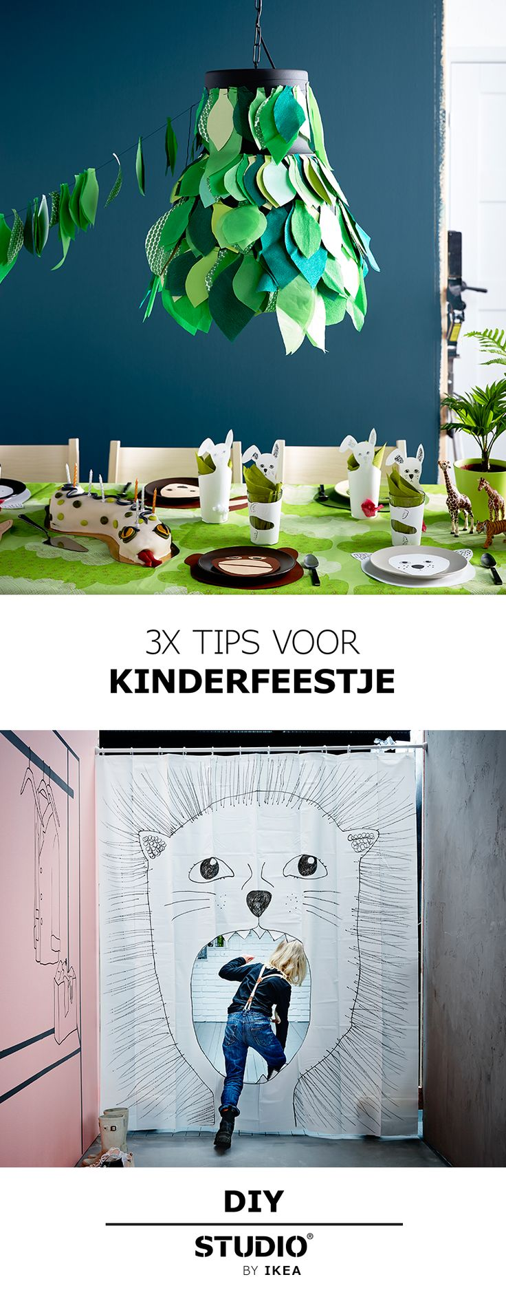 STUDIO by IKEA - 3x tips voor kinderfeestje   #STUDIObyIKEA #IKEA #IKEAnl…