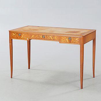 "CARL MALMSTEN, skrivbord, ""Nya Guldheden"", omkring 1900-talets mitt. - Bukowskis"