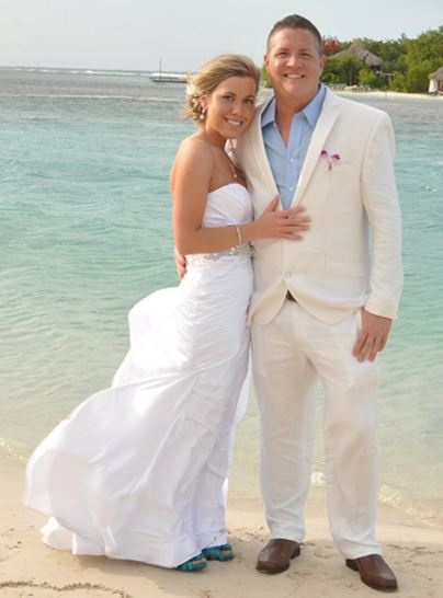 Satin dress, blowing in the wind.  Perfect.  And Iove the little peek of the color shoes!The Dress, Beach Wedding