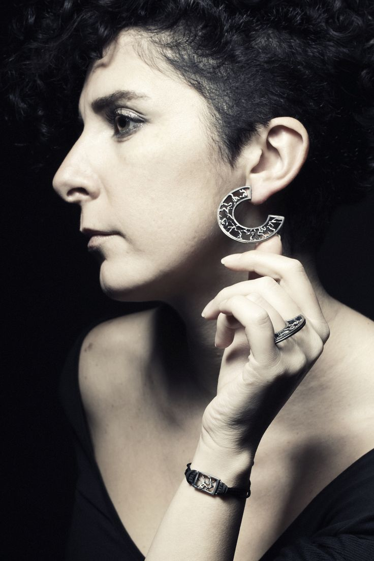Circle of Life Earring by Selda Okutan  Photograph by Mehmet Arda