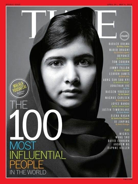 Mi heroína! Gracias por tu voz Malala.